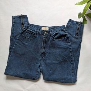 Vintage   80s Skinny Mom Jeans Jeanjer